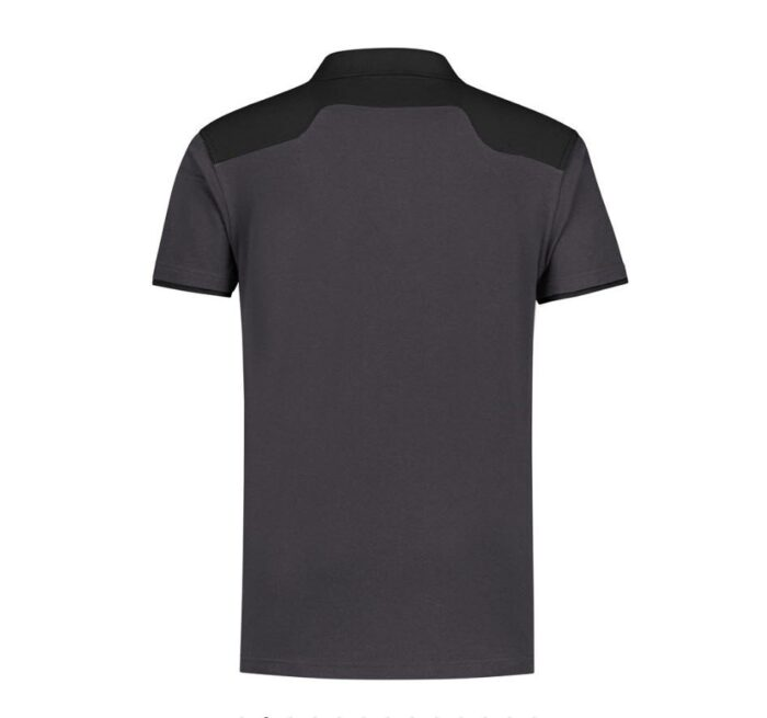Santino Tivoli 2color Polo-shirt (210gm2) grijs-zwart-b