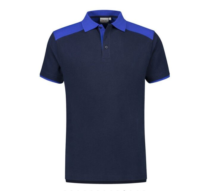 Santino Tivoli 2color Polo-shirt (210gm2) marine-blauw