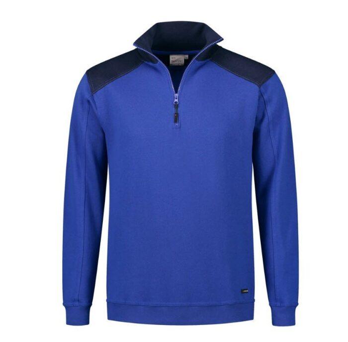 Santino Tokyo 2color Zip sweater (280gm2) blauw-marine