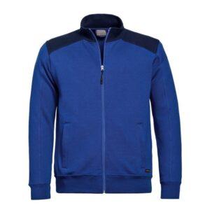 Santino Toronto 2color Zip sweatjack (320gm2) blauw-marine