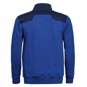 Santino Toronto 2color Zip sweatjack (320gm2) blauw-marinea