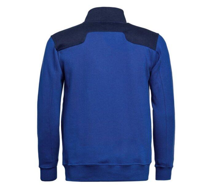 Santino Toronto 2color Zip sweatjack (320gm2) blauw-marinea