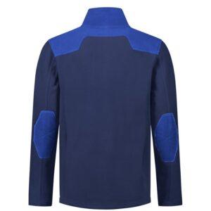 Santino Trento 2color Zip Fleecejack (280g-m2) marine-blauw 2