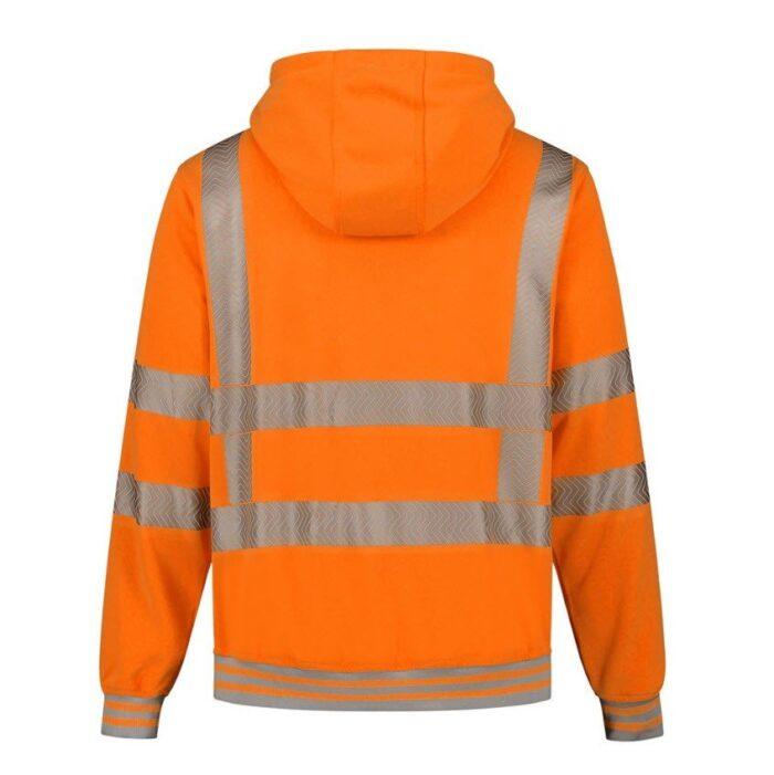 Santino Vermont Hoodi vest (270gr-m2) oranje 2
