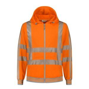Santino Vermont Hoodi vest (270gr-m2) oranje