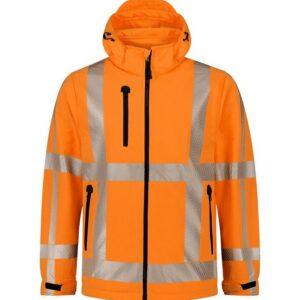 Santino Vigo Hi-Vis softshell (310gr-m2) oranje