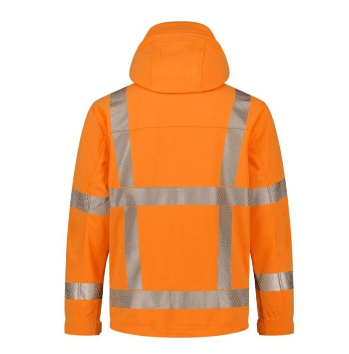 Santino Vigo Hi-Vis softshell (310gr-m2) oranje 2