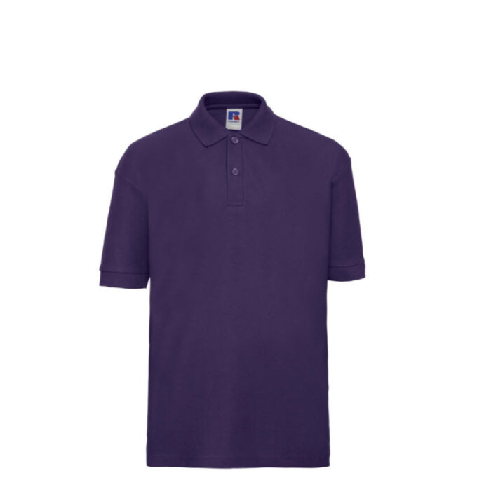 Russell Kinder Polo-shirt Classic 210g-m2 paars