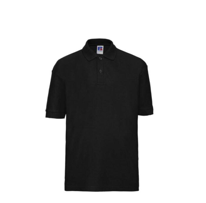 Russell Kinder Polo-shirt Classic 210g-m2 zwart