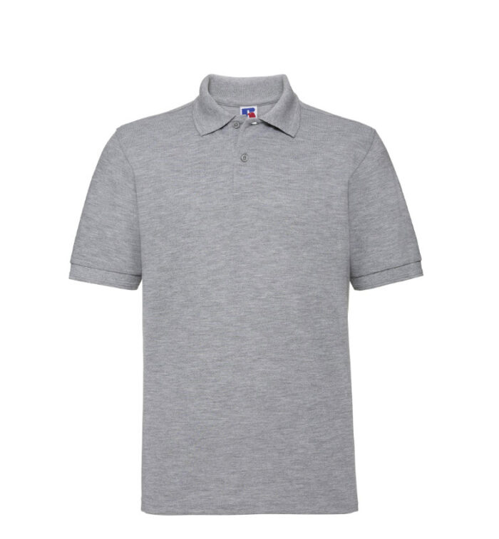 Russell kwaliteits Polo-shirt 210g-m2 Licht grijs
