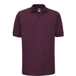 Russell kwaliteits Polo-shirt 210g-m2 paars