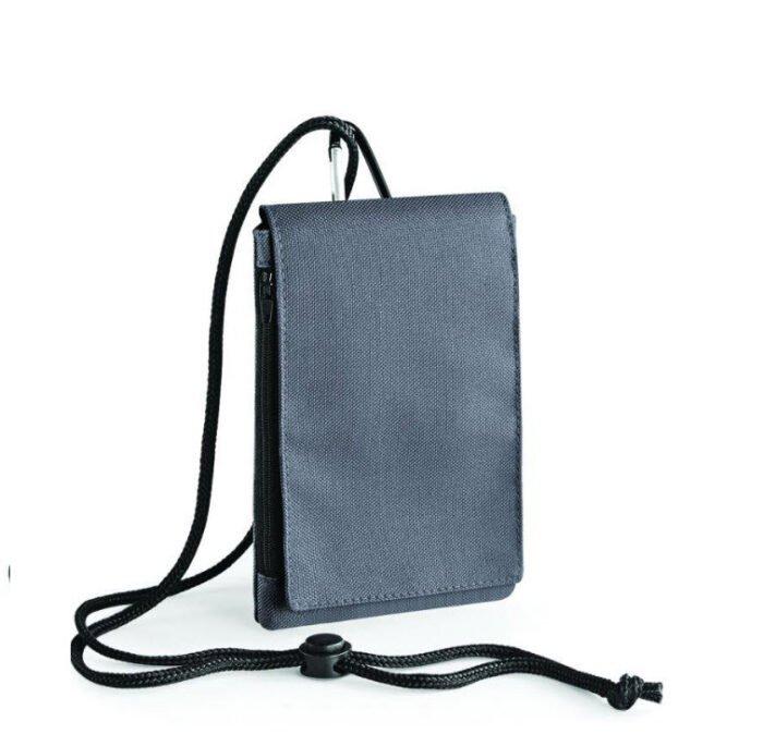 bagbase smartphone houder xl pouche grijs