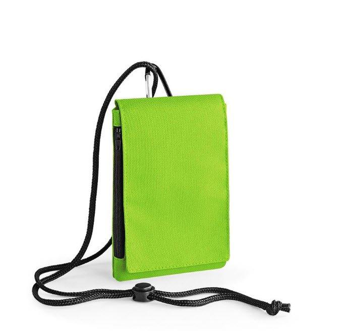 bagbase smartphone houder xl pouche limegroen