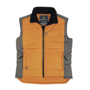 delta plus fidji bodywarmer polyester oranje