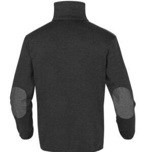 delta plus gebreide fleece trui 285 g m2 zwart