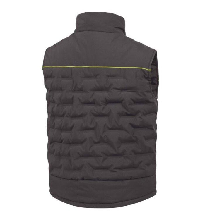 delta plus gravity dons bodywarmer polyester grijs