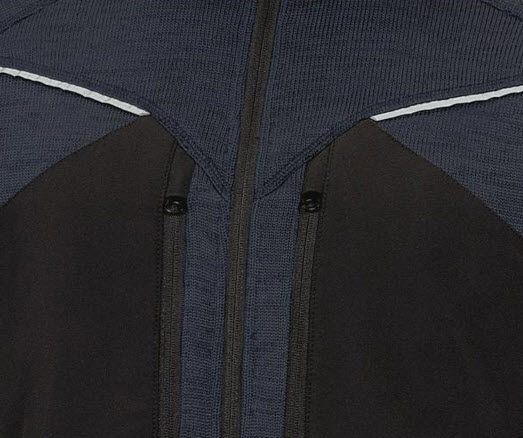 delta plus mach sportief fleece jas 4