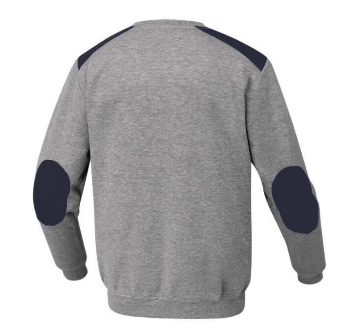 delta plus olino molton sweater grijs 2