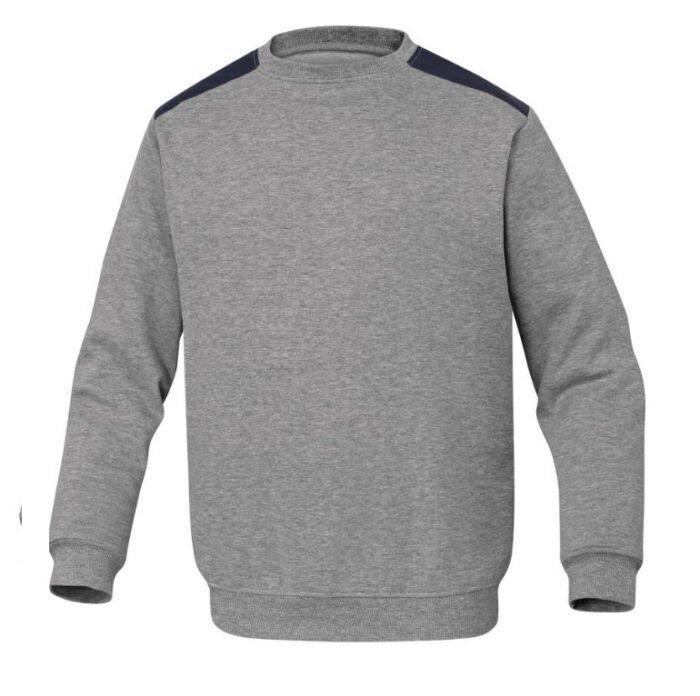 delta plus olino molton sweater grijs