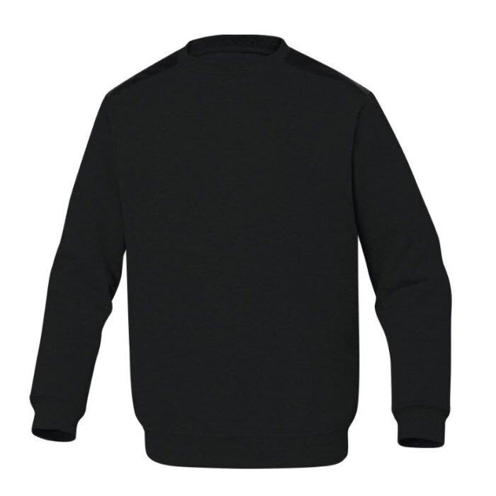 delta plus olino molton sweater zwart