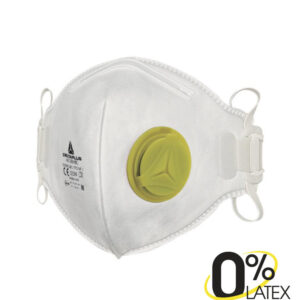 delta plus stoffilter ffp2 m1200vbc met ventiel en plooi