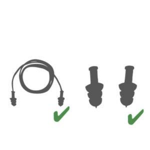 delta plus tpr herbruikbare oordoppen met koord 2