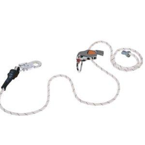 delta plus valstop 3in1 touwklem, vallijnspanner, 2mtr.