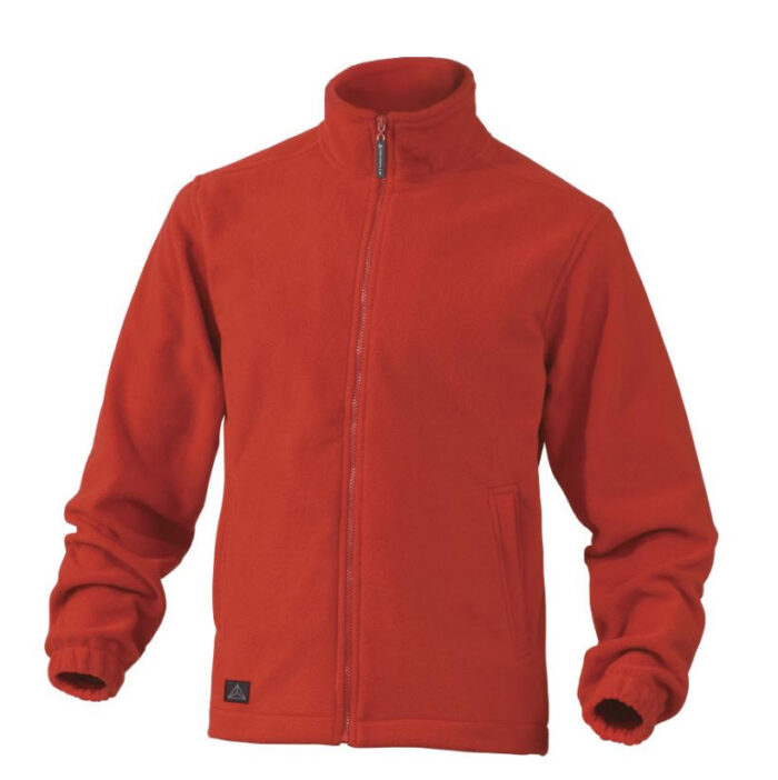 delta plus vernon fleece vest, jack polar rood