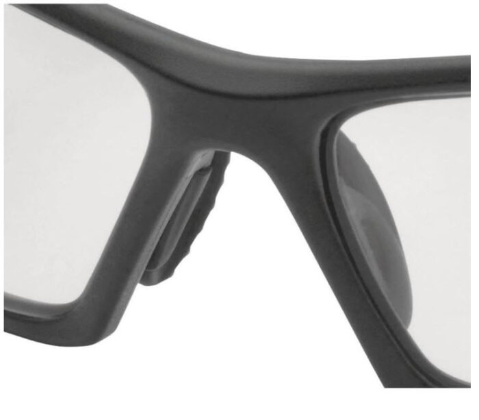 delta plus bril polycarbonaat sport kleurloos 3