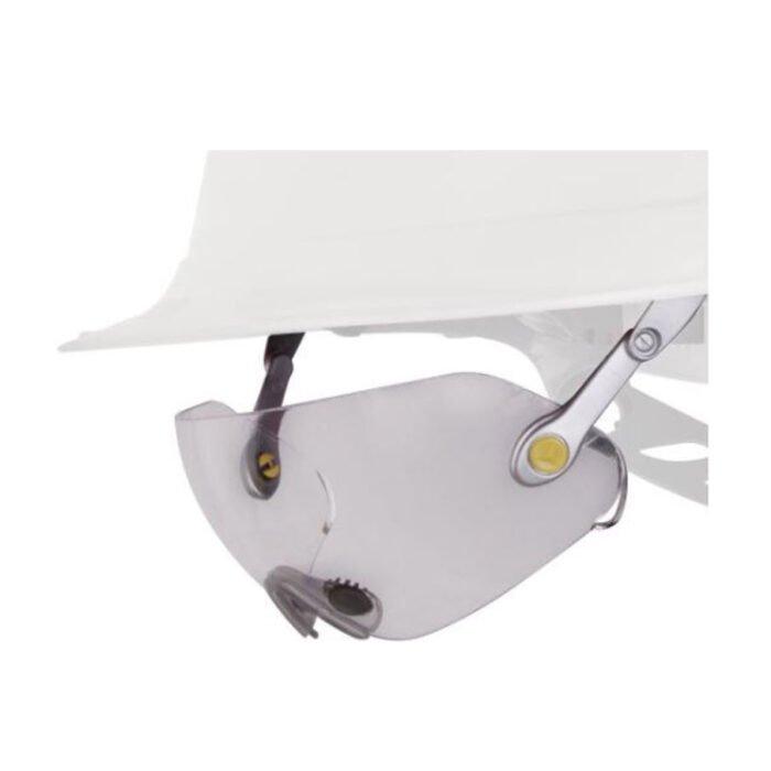delta plus polycarbonaat bril helm bevestiging kleurloos 3