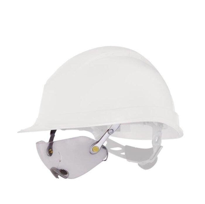 delta plus polycarbonaat bril helm bevestiging kleurloos