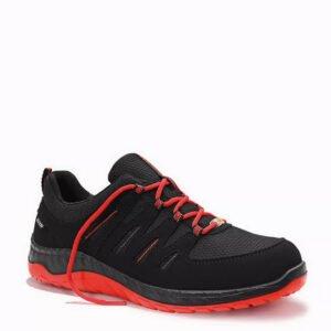 elten maddox zwart rood lage werkschoen s3 esd