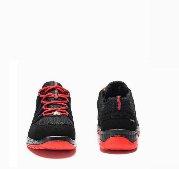 elten maddox zwart rood lage werkschoen s3 esd 4
