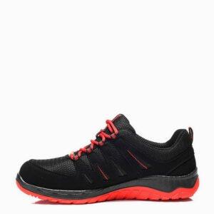 elten maddox zwart rood lage werkschoen s3 esd b