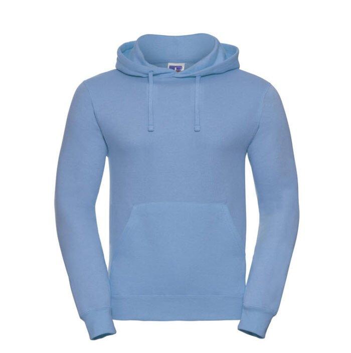 russell heren hoodie sweater 260gr m2 l blauw