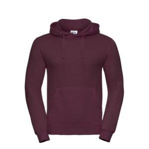 russell heren hoodie sweater 260gr m2 wijnrood