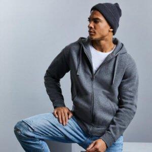 russell heren hoodie vest 280gr m2