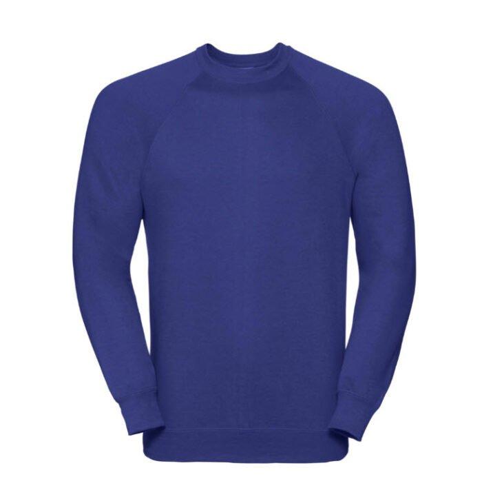 Russell Sweatshirt classic 295g-m2 blauw