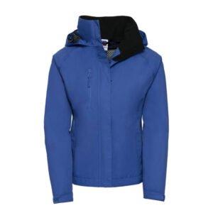 russell dames hydraplus waterdichte jack (waterproof 2000) blauw