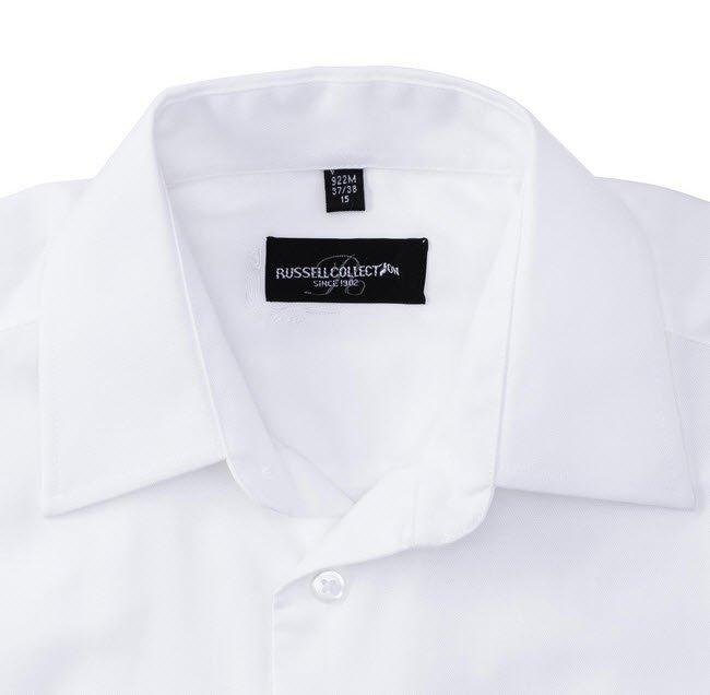 russell overhemd, blouse oxfort lange mouw c
