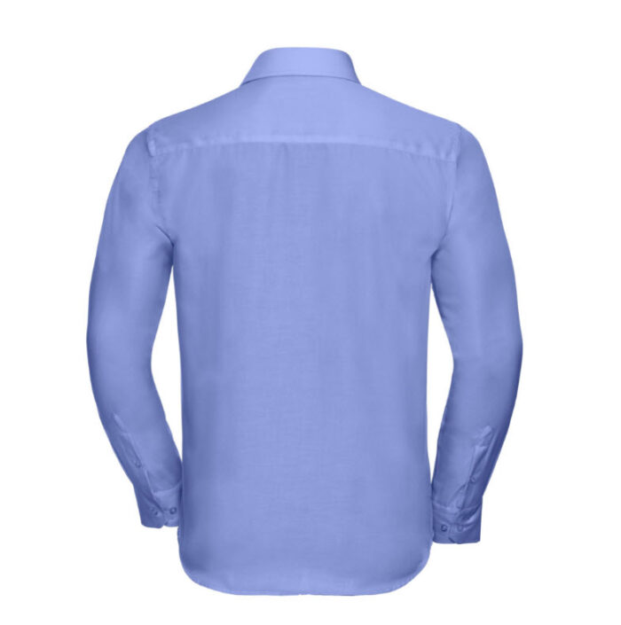 russell zakelijk overhemd, kreukvrij l blauw b