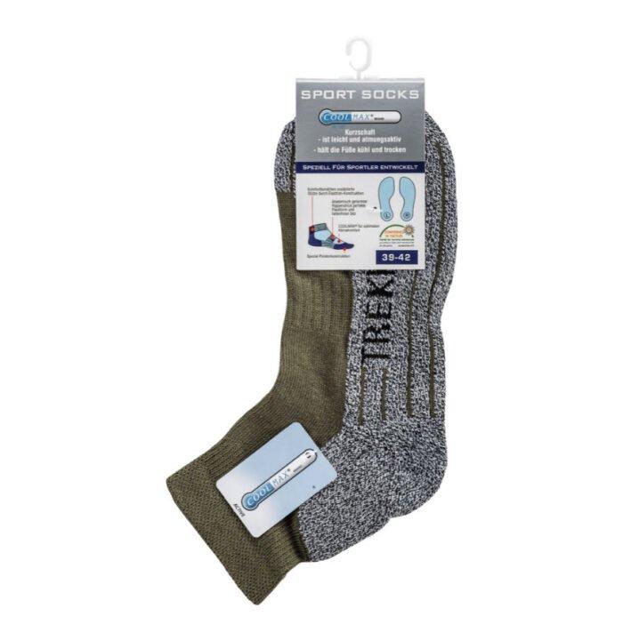 comfort trekking sokken met korte schacht