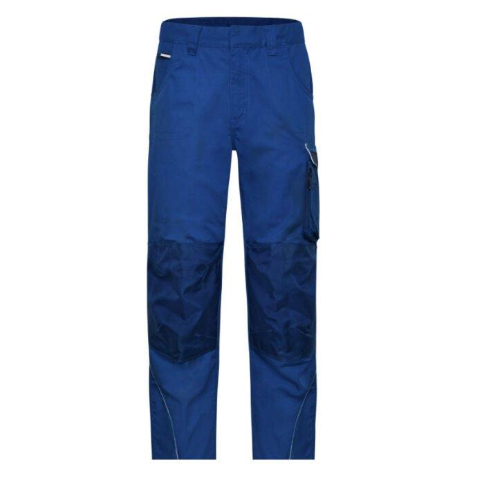 james & nicholson solid werkbroek jn878 korenblauw