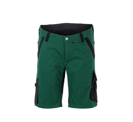 planam korte werkbroek norit (6450) groen zwart