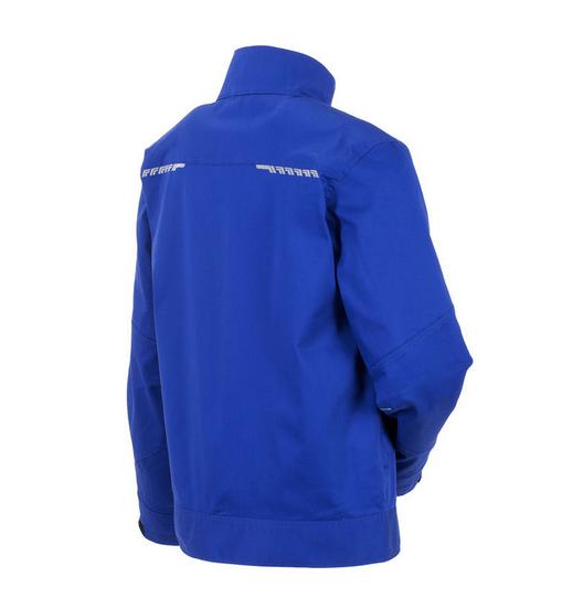 planam stretchline werkjack 265gr m2 (6600) blauw 1