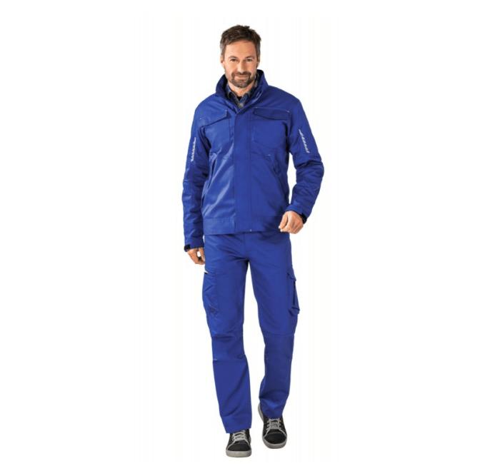 planam stretchline werkjack 265gr m2 (6600) blauw 2