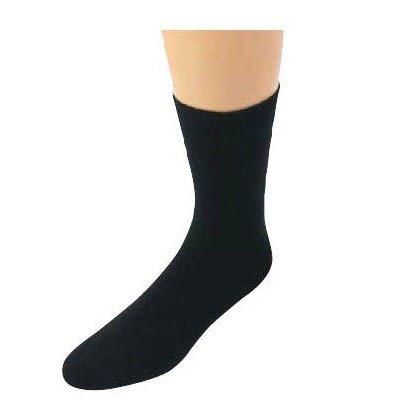 professionele sokken in zwart 100% katoen (5 stuk)