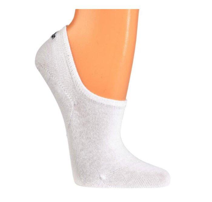 sneaker unisex sokken met extra siliconen pad (3stuk) wit
