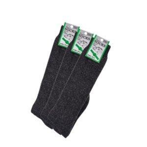 thermo badstof kniehoge sokken met wol (3 paar) 2