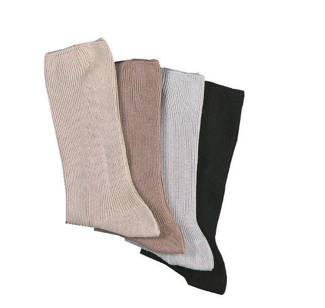 wellness handgebonden sokken lichte kleuren (5 paar)